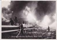 Avonmouth oil refineries 1950s 1