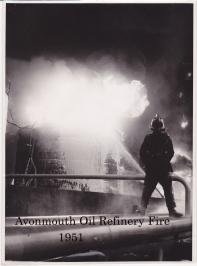 Avonmouth oil refineries 1950s 2