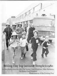 Boxing Day Jog 1980s