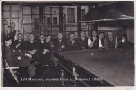 Bridewell snooker room 1960s