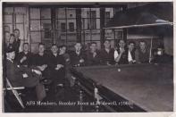 Bridewell snooker room 1960s