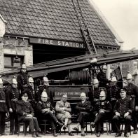 Clevedon Fire Brigade pre-WW2.
