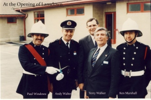 Opening of Lansdown 1980s