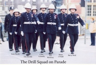 The Drill Squad on Parade