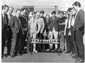 Brigade Football Team Sept 1970 (photo from Dicky Green).
