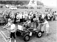 Clevedon Bed Race Photo and details from Graham Burchill. Scroll down