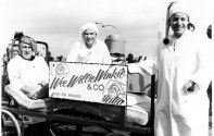 Clevedon Bed Race Photo and details from Graham Burchill. Scroll down for details.