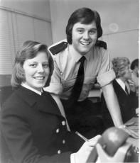 Sally (nee Lovell) &; Dicky Green,