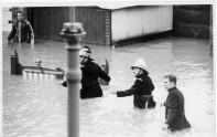 The 1968 Floods Rescue Hendre Rd, Ashton Photo from Ray Southard