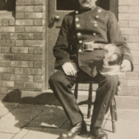 Fire Constable Albert Smith 1930 (Photo from Bristol Records Office)