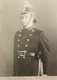 Fire Constable Len Beaumont 1935 (Photo from Bristol Records Office)