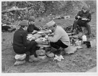 Junior Firemen D of E Camp Brecon Beacons 1966