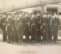 Regional Training School Recruits course 1950. Photo from Bristol Records Office.