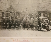 Bristol Fire Brigade 1908 Photo from the Bristol Records Office