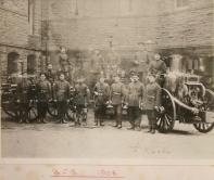 Bristol Fire Brigade 1908 Photo from the Bristol Records Office