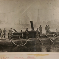 Fireboat Phoenix 1898 Photo from the bristol Records Office