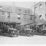 Quaker's Fire Station 1908. Demolished 1931.