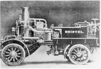 Shand Mason motor steamer AE 1623 delivered October 1909