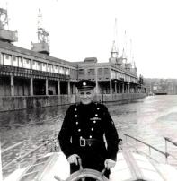 Jim Cecil on Fireboat duties