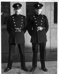 Mike Hughes & Jim Pratt at Reigate Training School 1965