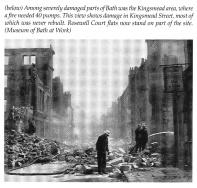Bath Blitz, Kingsmead Street