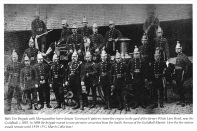 Bath Fire Brigade with Steamer 1892