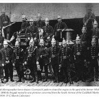 Bath Fire Brigade with Steamer 1892